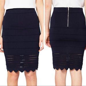 Ted Baker Scallop Skirt